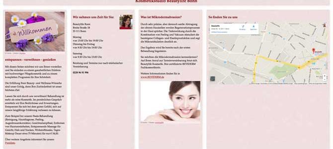 Neues Gesicht für Kosmetikstudio Beautylife Bonn
