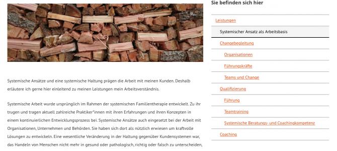 Website für Coach und Berater Norbert Weishaupt